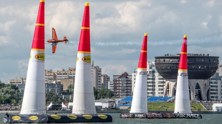 Чемпионат Мира Red Bull Air Race в Казани